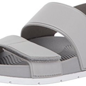Aldo Men's Brawen Flat Sandal, Grey, 10 D US