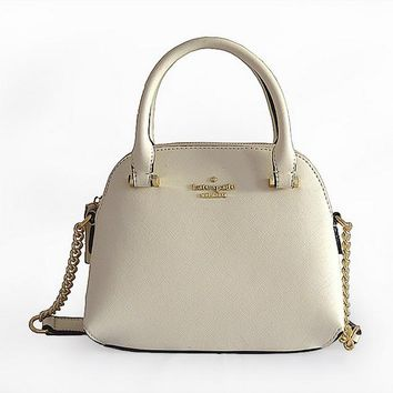 """Kate Spade"" Women Simple Fashion Mini Metal Chain Single Shoulder Messenger Bag Handbag"