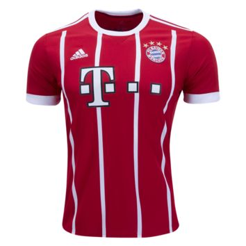 KUYOU Bayern Munchen 2017/18 Home Men Soccer Jersey Personalized Name and Number