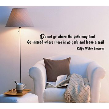 Wall Decal Office Lettering Sign Inspiring Mirror Words Vinyl Sticker (ed865) (22.5 in X 5 in)