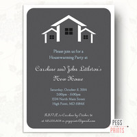 House Warming Party Invitation, Printable Housewarming Party Invitation, Housewarming Invitation Printable