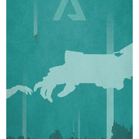 Titanfall - Titans Dropping Art Print by Marco Mottura | Society6