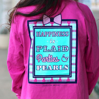 Happiness is Tee by Jadelynn Brooke {Raspberry}