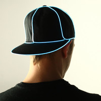 Light Up Snapback Hat