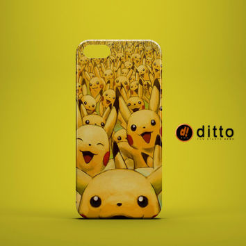 LOOK PIKACHUS Design Custom Case by ditto! for iPhone 6 6 Plus iPhone 5 5s 5c iPhone 4 4s Samsung Galaxy s3 s4 & s5 and Note 2 3 4