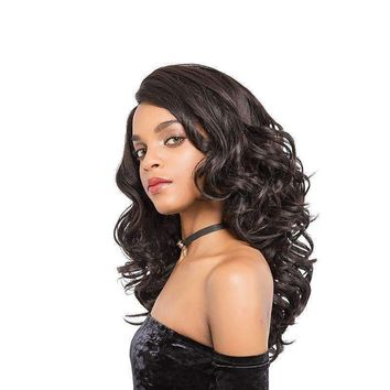 Long Wavy Lace Front Wig Synthetic Hair 2.5-16 Inch Wigs High Temperature Fiber