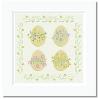 Easter Eggs - PDF Cross Stitch pattern on Craftsy.com