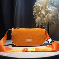Kuyou Gb59717 Lv Louis Vuitton Monogram Orange Bumbag