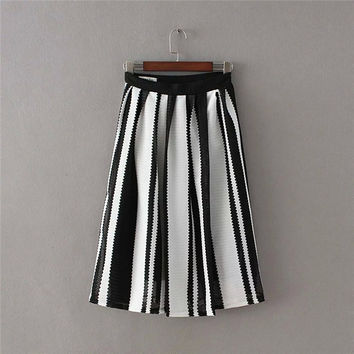 Summer Women's Fashion High Rise Dress Skirt [4920249988]