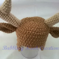 Earflap Deer Hat for Babies