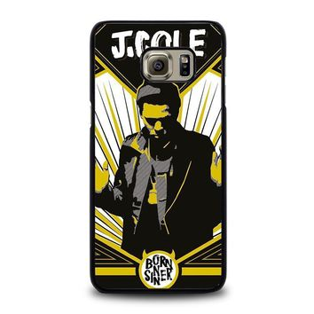 j cole born sinner samsung galaxy s6 edge plus case cover  number 1