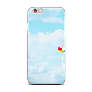 "Sylvia Coomes ""Balloons in the Sky"" Photography Kids iPhone Case"