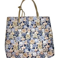 CHANEL Totebag Hand bag 2016 AW Series Purse Porch Cat Animal Auth Mint L/d Rare