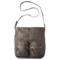 Mossimo Supply Co. Brown Cargo Messenger Handbag