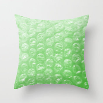 Bubble Wrapped Throw Pillow by Rokin Art by RokinRonda