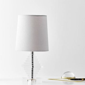 Acrylic Tiered Table Lamp