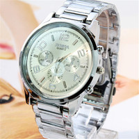 Casual Sports Watch for Men Fashion Classic Steel Strap Wrist Watches Best Christmas Gift