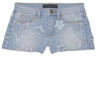 Star Patch Denim Shorts by Juicy Couture