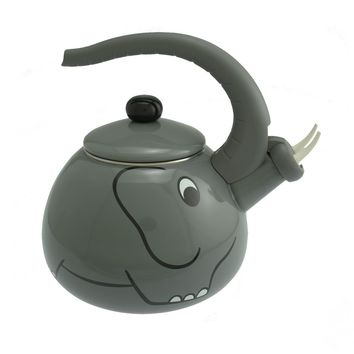 Supreme Housewares Whistling Tea Kettle, Elephant