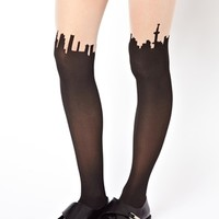 Monki Bibi Cityscape Tights