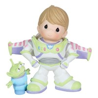 "Precious Moments, Disney Showcase Collection, ""To Infinity And Beyond"", Bisque Porcelain Figurine, #113028"