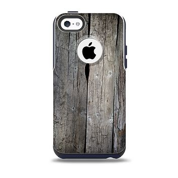 The Cracked Wooden Planks Skin for the iPhone 5c OtterBox Commuter Case