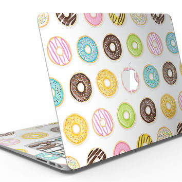 Yummy Colored Donuts - MacBook Air Skin Kit