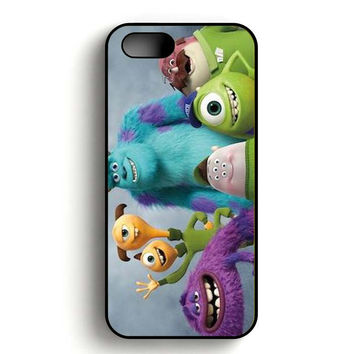 Monster Inc art OK Team iPhone 5, iPhone 5s and iPhone 5S Gold case
