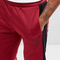 Puma Archive T7 Joggers In Red 57331309 at asos.com