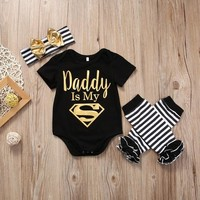 Daddy Is My Superman 3-Piece Set