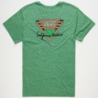 Vans Golden State Mens T-Shirt Heather Kelly  In Sizes
