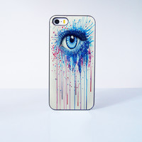 Painting Eye  Plastic Case Cover for Apple iPhone 5s 5 6 Plus 6 4 4s  5c