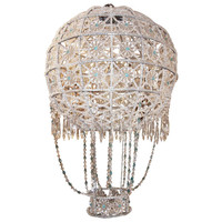 Grand Scale Crystal Balloon Chandelier