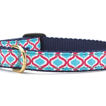 Up Country Blue Kismet Cat Collar