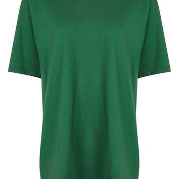 Boyfriend T-Shirt Tunic - Tops - Clothing