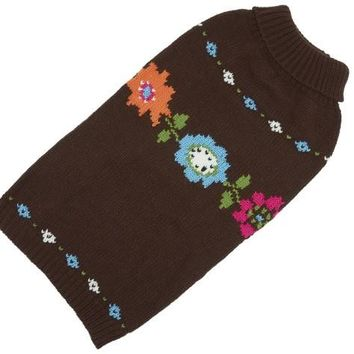 Hand Knit Sweater Bella Floral