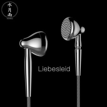 CREYONV 2017 new moondrop liebesleid flagship earbud balanced hifi metal industrial design earphone 13 5mm dynamic driver free shipping
