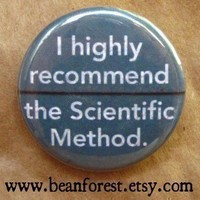 i recommend the scientific method by beanforest on Etsy