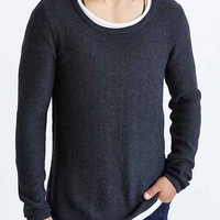 The Narrows Long Scoop Neck Sweater-