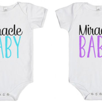 Miracle Baby Onesuit - Bodysuit NB-24MO