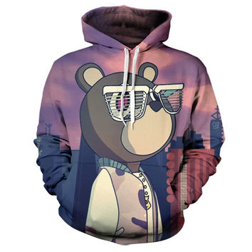 Kanye West Graduation Bear Hoodie