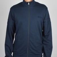 Hugo Boss Black Funnel Neck Jacket 50271558 - Navy