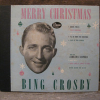 Merry Christmas - Bing Crosby (Four Vinyl Record Set)