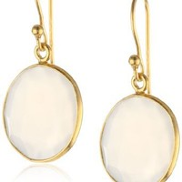 18k Yellow Gold-Plated Sterling Silve...