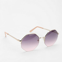 Palm Desert Geo Round Sunglasses