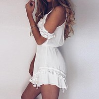 Women's Lace Romper