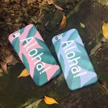 Banana Leaves Case For Iphone