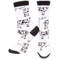 Cows Moo All-Over Women's Socks