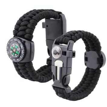 Multifunctional Thermometer Paracord Survival Bracelets