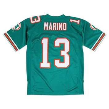 DCCKFC9 Mitchell & Ness Dan Marino 1994 Authentic Jersey Miami Dolphins In Teal